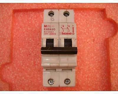 Interruttore automatico magnetotermico ticino 20a