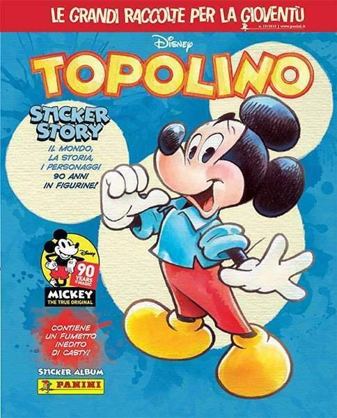 Vendo figurine album panini topolino stickers story