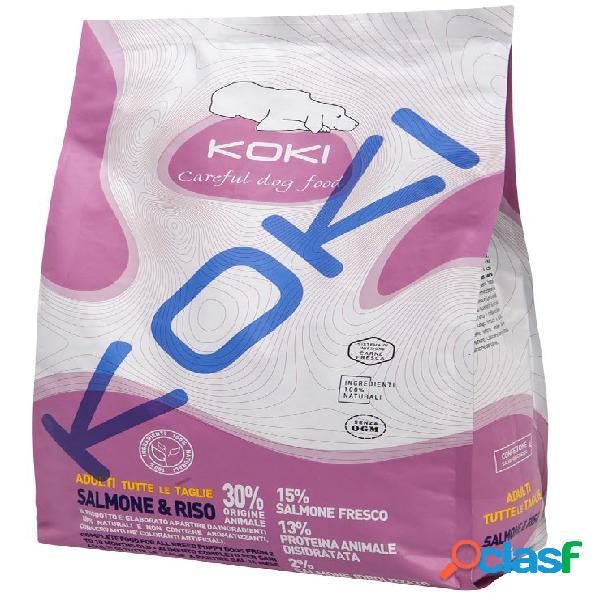 Koki cane adult all breed - salmone e riso 2,5 kg