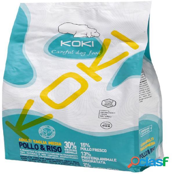 Koki cane adult medium / medio - pollo e riso 2,5 kg