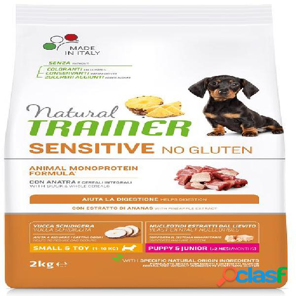 Trainer natural sensitive no gluten puppy & junior small toy /...