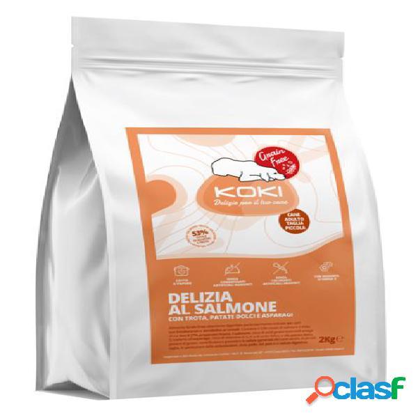Koki grain free adulto kg 2 delizia al salmone con trota, patate...