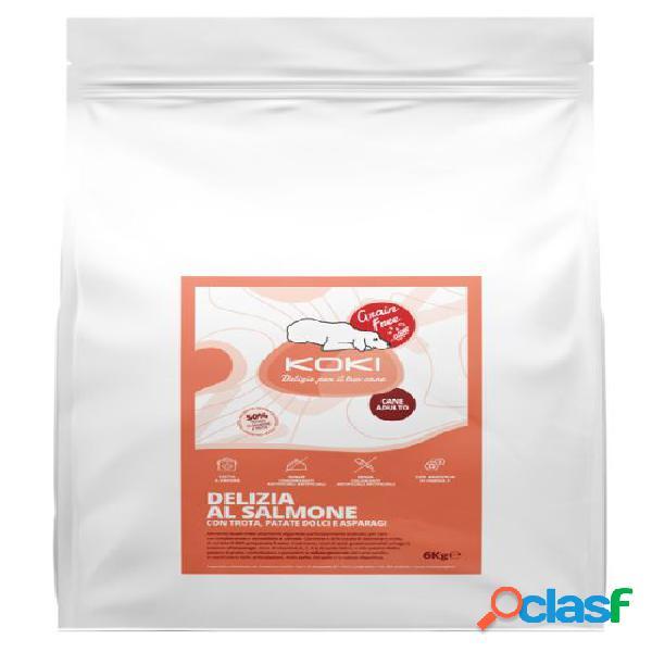 Koki grain free adulto kg 6 delizia al salmone con trota, patate...