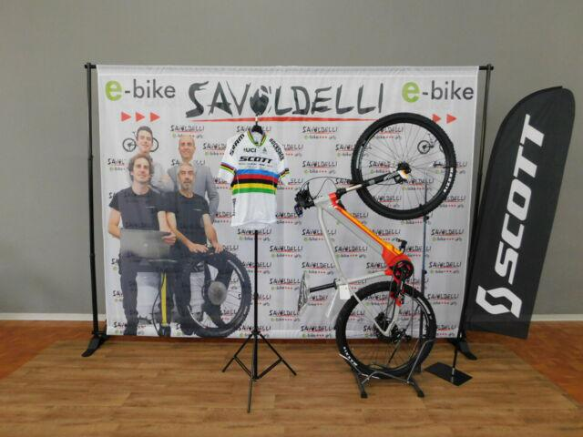Bici elettrica a pedalata assistita scott easpect 20 ebike