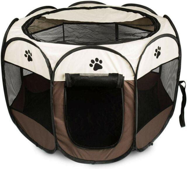 Tenda box per cani recinto cuccia per piccoli animali pop-up