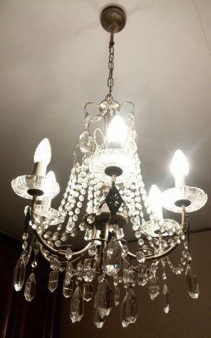 Lampadario a goccia 6 lampadine
