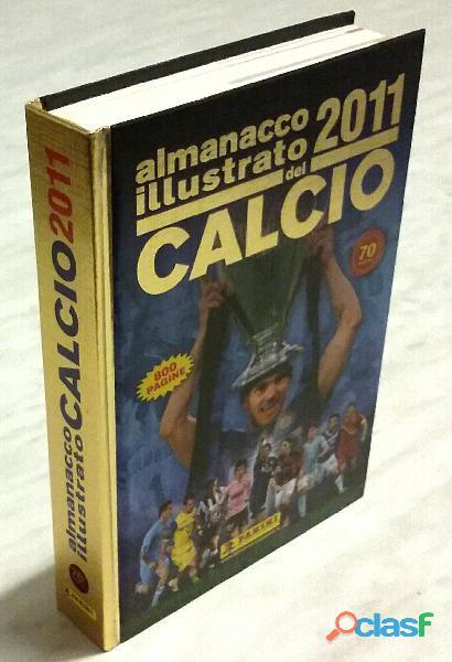Almanacco illustrato del calcio 2011 panini volume 70° nuovo