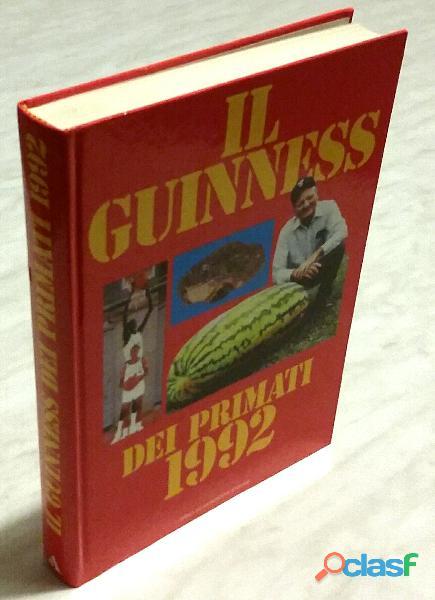 Il guinness dei primati 1992 editore mondadori nuovo