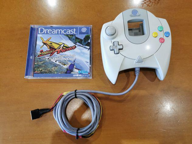 Dreamcast gioco propeller arena + controller modificato