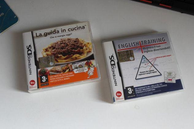 Lotto 2 giochi nintendo ds english training – guida in