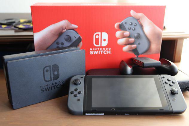 Nintendo switch - grigio