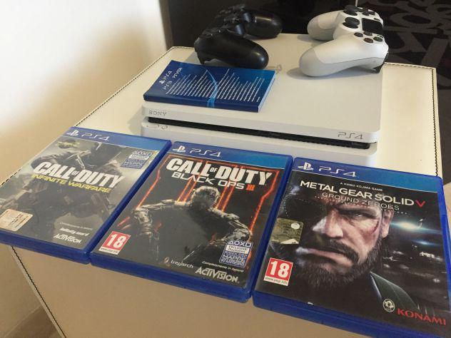 Playstation 4 slim 500 gb come nuova.