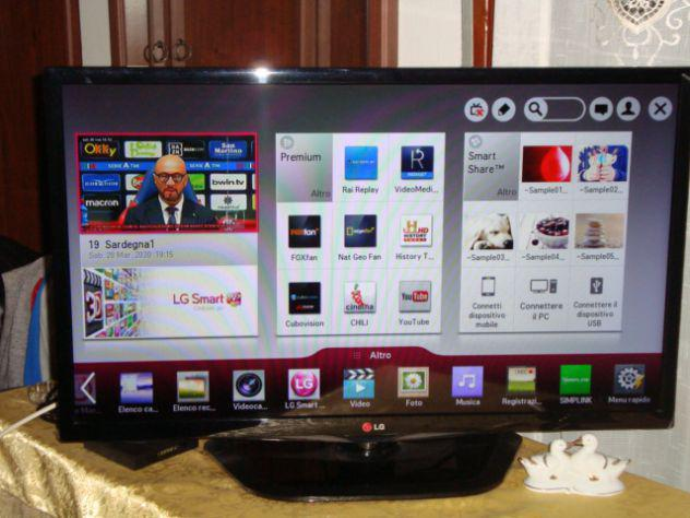 Tv led lg smart tv 32 pollici- nuovo