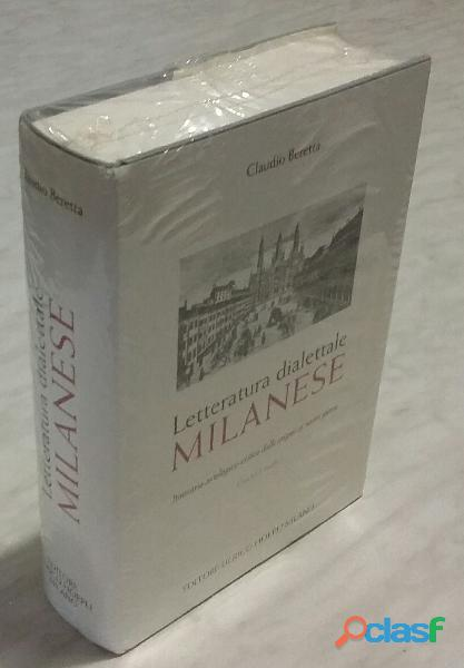 LETTERATURA DIALETTALE MILANESE CON CD AUDIO BERETTA CLAUDIO NUOVO CON CELLOPHAN