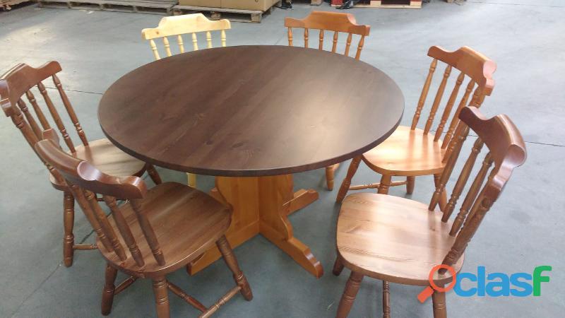 Set panca, tavoli e sgabelli