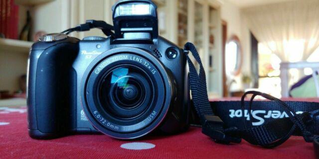 Canon power shot s3is digitale compatta perfetta come da