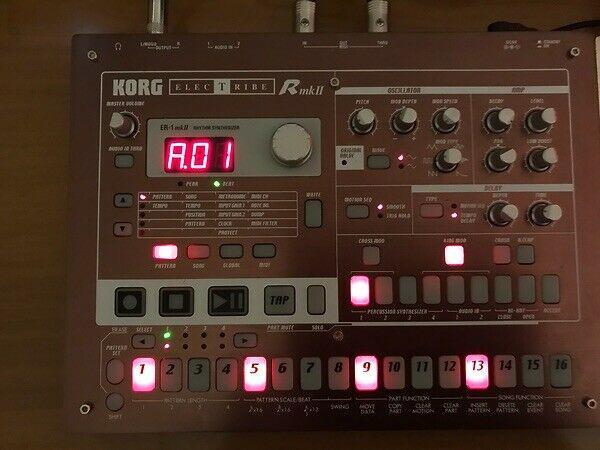 Korg er1 mk2 drum machine