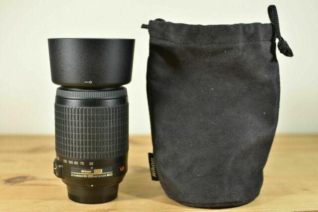 Obiettivo Nikon AF-S 55-200 VR