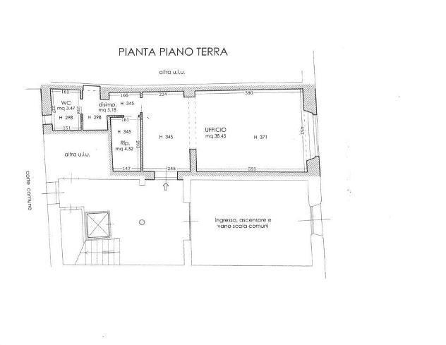 Open Space in affitto a Pisa 45 mq Rif: 880594