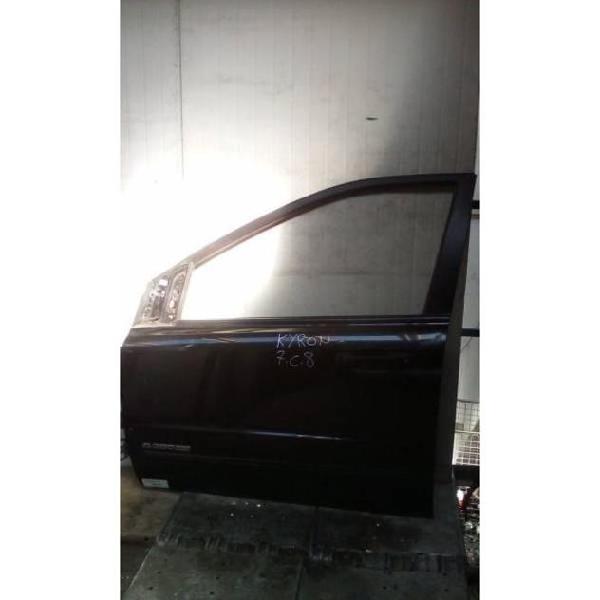 Portiera anteriore sinistra ssangyong kyron 1° serie 2000