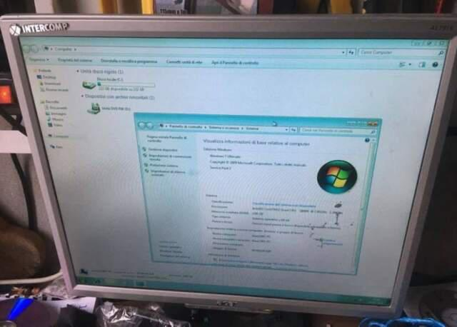 Computer scuola/ufficio pc+monitor garanzia-spedizione