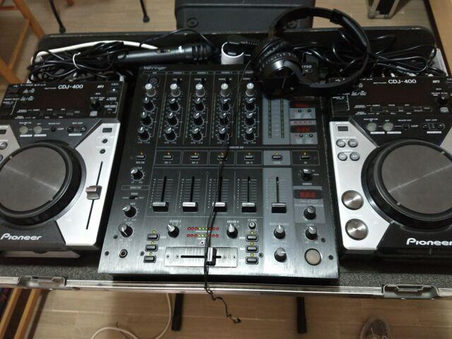 Consolle pioneer + mixer +flightcase