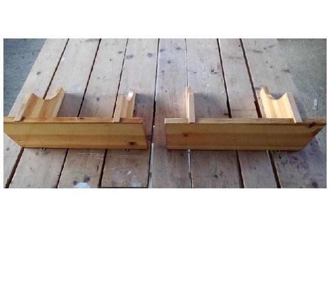 Mensole in legno massello di pino