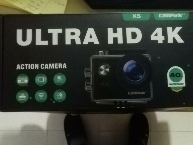 2020 nuova】campark 4k 20mp action cam