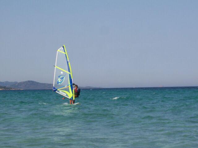 Attrezzatura completa wind surf