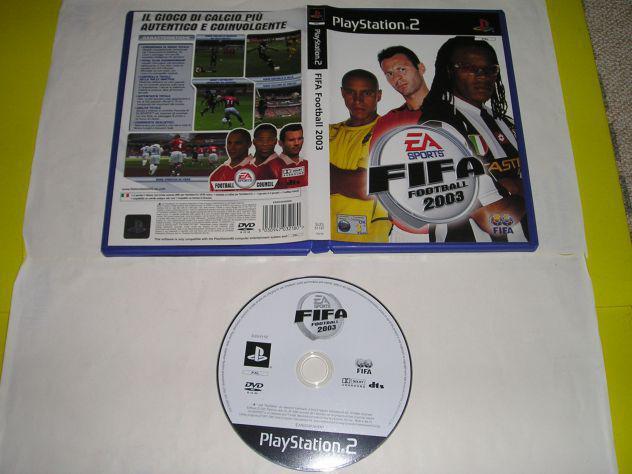 Gioco ps2 - fifa football 2003 - pal (senza libretto)
