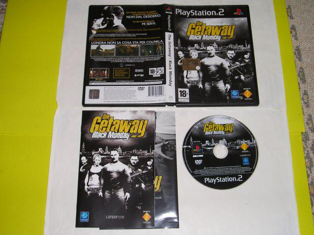 Gioco ps2 -the getaway: black monday - pal