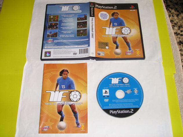 Gioco ps2 - this is football 2002 - pal