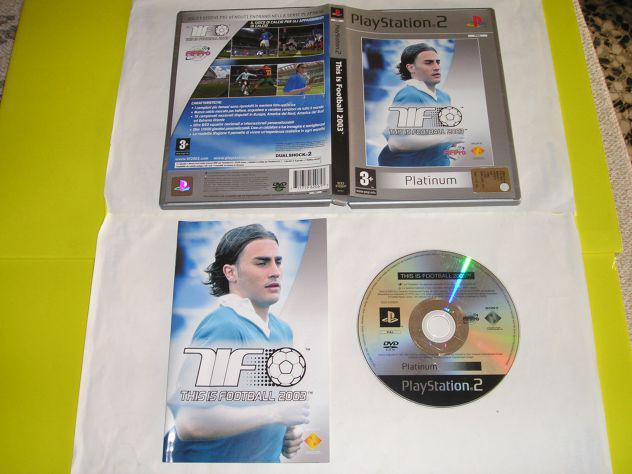 Gioco ps2 - this is football 2003 - pal
