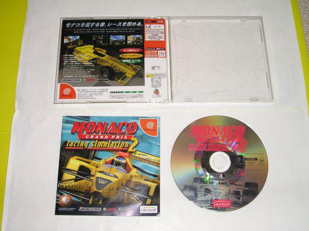 Gioco sega dreamcast - monaco grand prix racing simulation 2