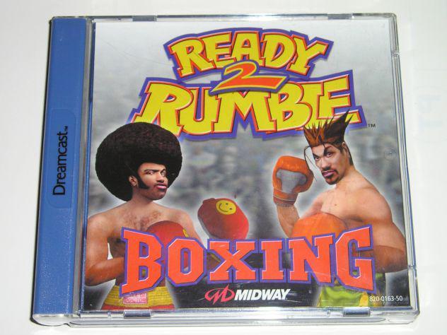 Gioco sega dreamcast - ready to rumble 2 boxing