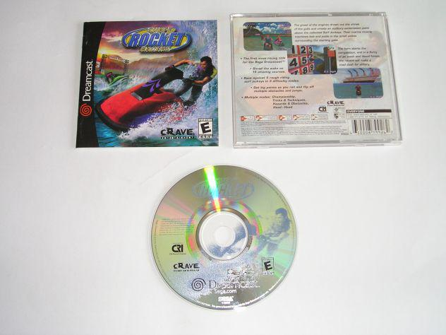 Gioco sega dreamcast - surf rocket racers - ntsc