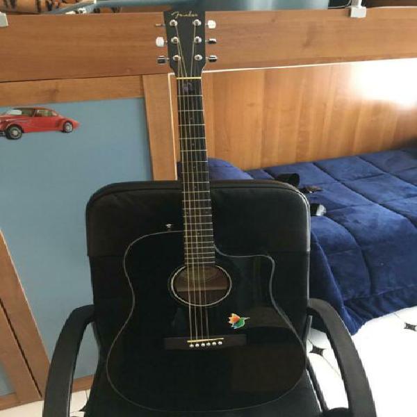Fender cd-60sce dread/blk