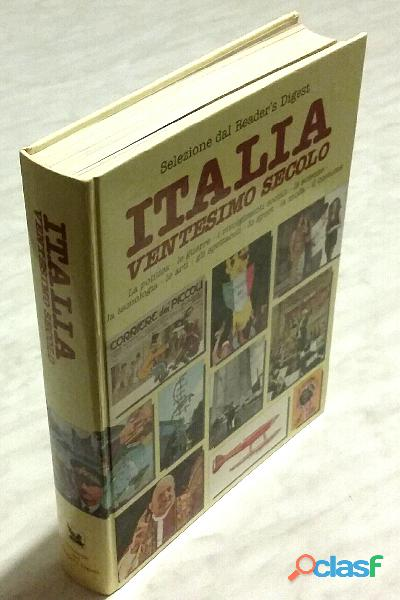 Italia ventesimo secolo 1°ed.selezione dal reader's digest, 1985 nuovo