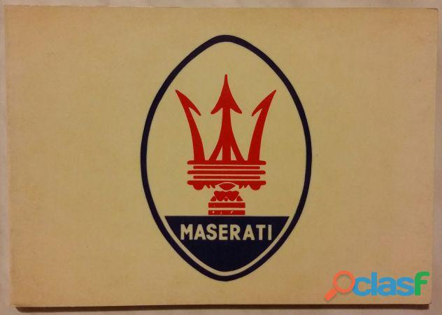 Tutta la storia di maserati di gianni cancellieri/cesare de agostini ed.automobilia, 1981 come nuov