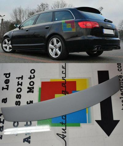 Audi a6 4f c6 2004-2011 alettone sul tetto abt s6 spoiler