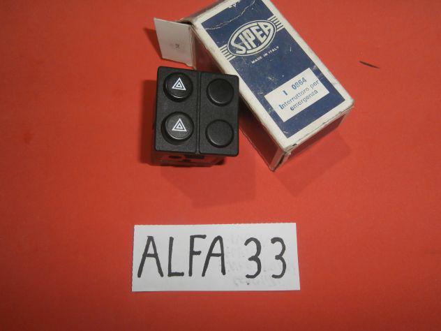 Pulsante interruttore di emergenza alfa 33 sipea 0864