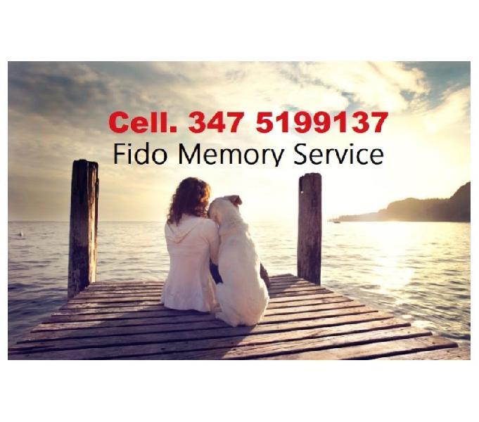 Fido memory service cremazione animali