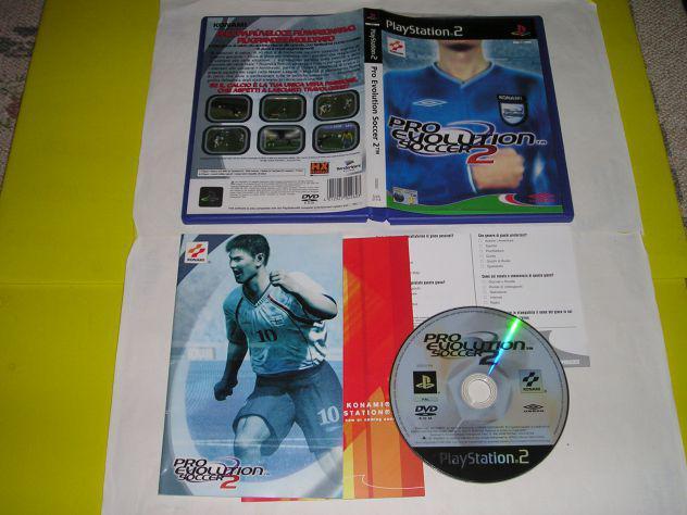 Gioco ps2 - pro evolution soccer 2 - pal
