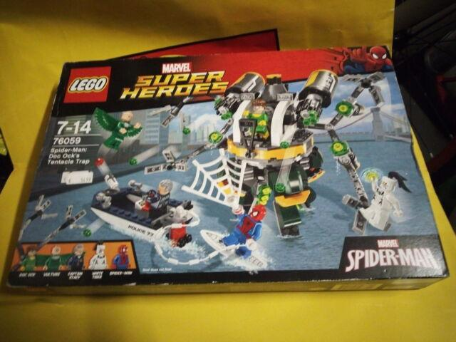 Lego super heroes marvel 76059 nuovo misb