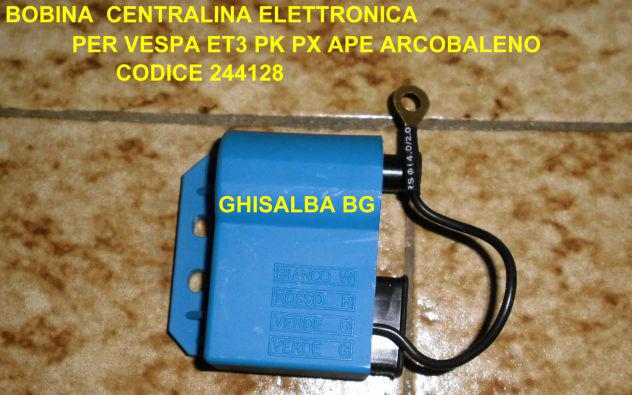 Bobina centralina elettronica per piaggio vespa et3 pk ape