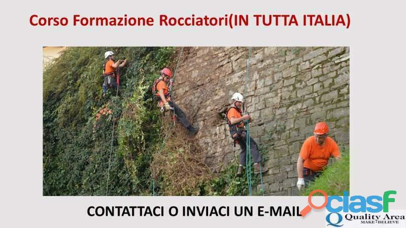 Corso formazione rocciatori