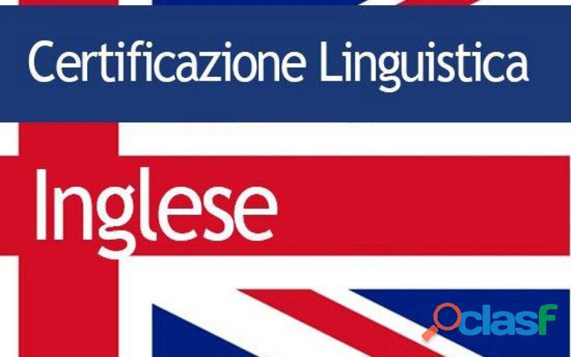 Esami certificazione lingua inglese