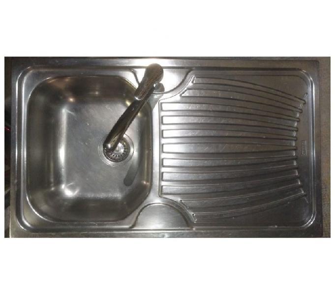 Lavello incasso acciaio inox franke + miscelatore