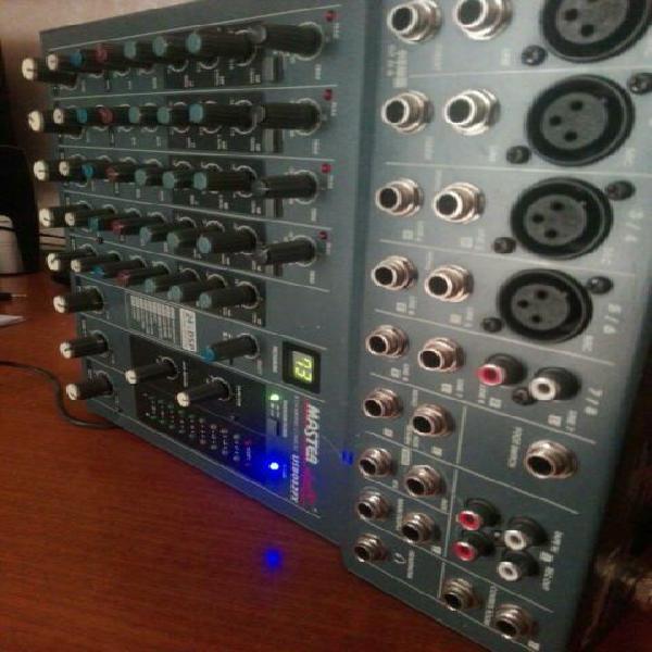 Mixer audio con effetti dsp
