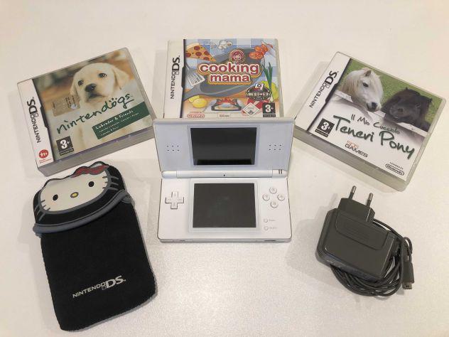 Nintendo ds e 3 giochi originali